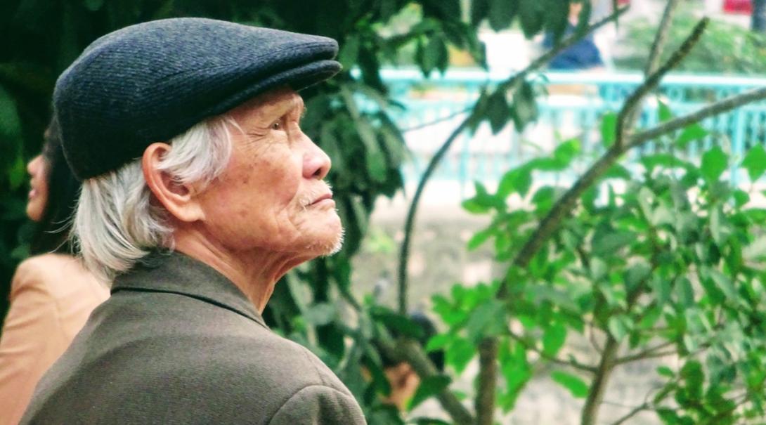 ベトナムに暮らす現地人男性